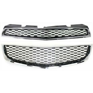 Grille For 2010 2014 Chevrolet Equinox 0 Without Emblem Provision