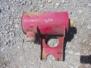 International 656 Gas Tractor Ihc Ih Air Cleaner Filter Canister