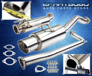 06 2011 Honda Civic Si 2dr Jdm Style 3 Catback Exhaust Kit K20z3 Vtec Engine