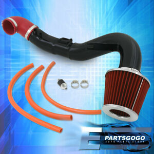 For 06 11 Honda Civic Si 2 0l K20z3 Cold Air Intake Black W Performance Filter