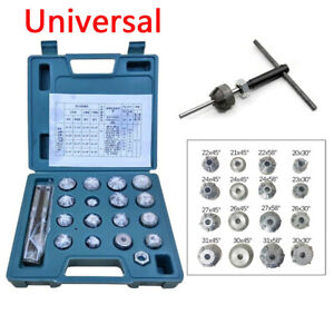 Universal Valve Seat Reamer Motorcycle Repair Displacement Cutter Tool Set