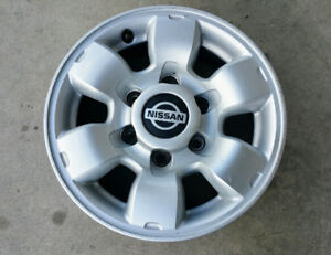 15 Silver 1998 1999 2000 Nissan Frontier Oem Factory Alloy Wheel Rim 62363 Used