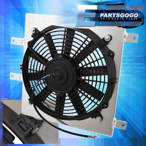 For 92 00 Civic Delsol M t Racing Aluminum Cooling Radiator Fan Shroud Mount Kit