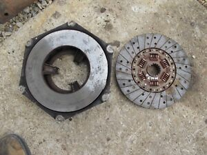 Massey Harris 33 Tractor Engine Motor Flywheel Clutch Assembly Pressure Plate