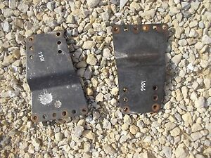 International 1066 1086 Series Tractor Ihc Main Seat Mounting Brace Brackets