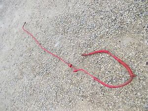 Massey Harris Mh 22 Tractor Oil Line Long Main Line Hose Connection