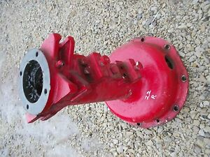 Massey Harris 22 Tractor Rowcrop Original Mh Right Rear Axle Housing