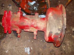 Massey Harris 22 Tractor Original Mh Left Rear Axle Housing