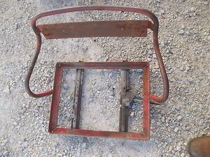 International 300 350 Utility Tractor Ih Deluxe Seat Assembly Frame For