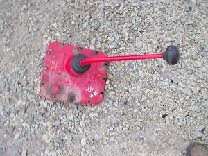 Massey Harris 22 Tractor Orgnl Mh Transmission Cover Gear Shift Shifter Forks