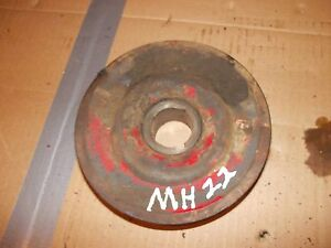 Massey Harris 22 Tractor Original Mh Engine Motor Main Front Crankshaft Pulley