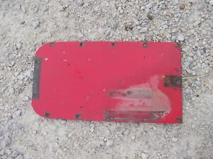 Massey Harris 33 Tractor Mh Rear Transmission Cover Panel