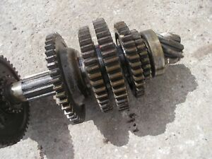 Massey Harris 33 Tractor Mh Main Rearend Set Top Drive Gears Shaft