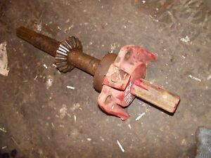 Massey Harris 22 Tractor Original Mh Pto Power Take Off Shaft Holder Mount