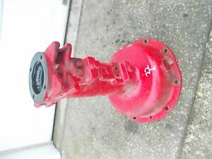 Massey Harris 22 Tractor Rowcrop Original Mh Left Rear Axle Housing