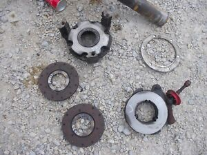Massey Harris 33 Tractor Mh Complete Left Inner Brake Assembly