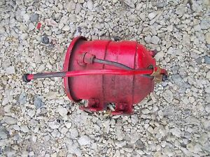 Massey Harris 22 Tractor Mh Engine Motor Oil Filter Canister Holder