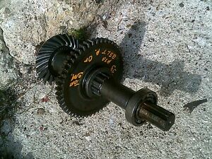 Massey Harris 33 Tractor Mh Main Rearend Set Drive Gears Pto Or Belt Pulley