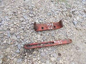 Massey Harris 33 Tractor Generator Main Mounting Tension Bracket Brackets