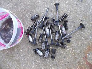 Massey Harris 22 Tractor Original Mh Engine Motor Valves Springs Lifters Keepers