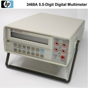 Hp agilent keysight 3468a 5 5 digit Digital Multimeter looks Very Clean