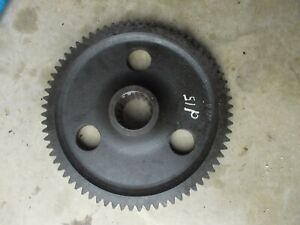 Allis Chalmers D15 Tractor Ac Transmission Main Drive Bull Bowl Final Gear