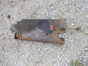 Massey Harris 33 Tractor Original Mh Right Side Step Foot Platform