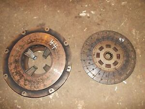 Massey Harris 44 Tractor Mh Engine Motor Clutch Pressure Plate Assembly