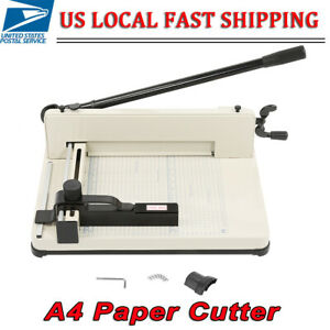 Yosoo Heavy Duty Guillotine A4 Paper Cutter 12 Inch Cutting Machine Hss Blade