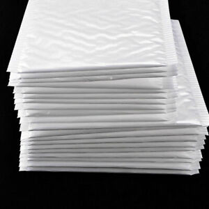 Bulk Bubble Mailers Padded Envelopes Shipping Bags Self Seal Small Items 10x set