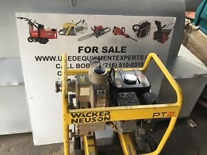 Used Wacker Neuson Pt2 Centrifugal Trash Water Pump 2 inch Dewatering Pump