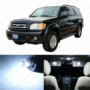 16 X White Led Interior Lights Package For 2001 2007 Toyota Sequoia Tool