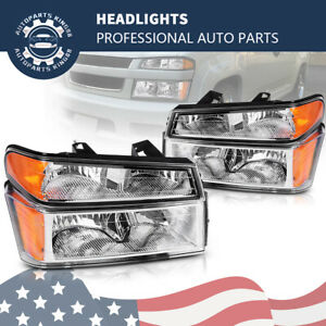 For 04 12 Chevy Colorado gmc Canyon Parking Corner Headlight Headlamp Assembly