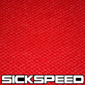 Red Jersey Pineapple Seat Cloth For Recaro Bride Sparco Fabric Race Seats A