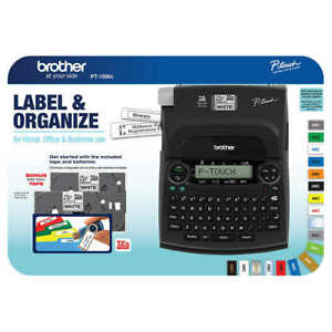 Brand New Brother P touch Label Maker Pt 1890c Free Shipping
