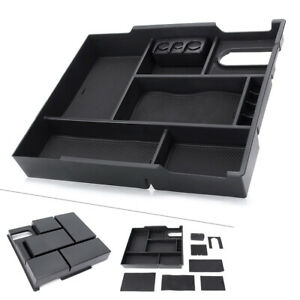 Center Console Tray Organizer Coin Holder Glove Box For 14 18 Toyota Tundra New