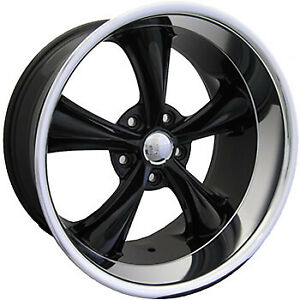 20x10 Black Boss 338 Rim 5x115 20 Offset 33822015