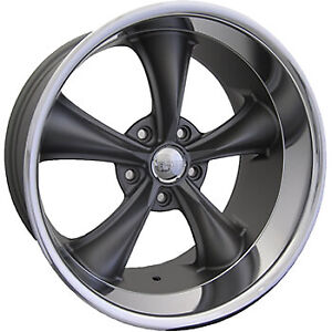 18x9 5 Gray Boss 338 Wheel 5x5 5x127 4 Offset 33879950