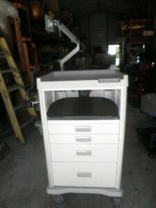 Stanley Innerspace Harmony 6330wn Medical Procedure Storage Mobile Cart Cabinet
