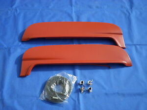 New 1952 1953 1954 Ford Mercury Flush Mount Steel Metal Fender Skirts W Clips