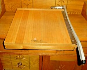 Vintage Olson Manufacturing 15x15 Paper Cutter