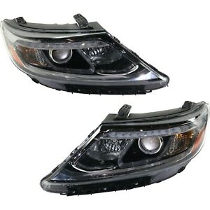Headlight For 2014 2015 Kia Sorento Driver And Passenger Side