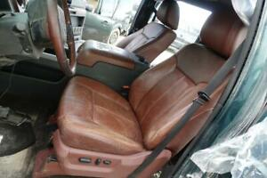 2011 2016 Ford F250 F350 King Ranch Oem Brown Leather Seats Console Door Panels