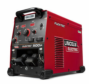 Lincoln Flextec 500p Multi process Welder With Vrd K4092 1