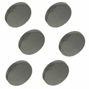 National Hardware N302 273 Round Ceramic Disc Magnets 1 By 5 32 6 Pack