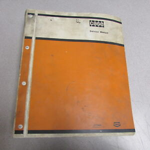 Case 584c 585c 586c Construction King Fork Lift Service Repair Manual 1976
