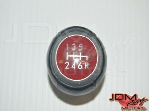 Red Weighted Subaru Wrx Sti 6 Speed Transmission Shift Knob For Sale For 2008