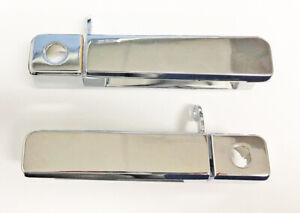 New 1984 1996 C4 Corvette Outside Door Handles Chrome Outer Reproduction