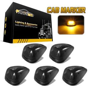 5xsmoke Cab Marker Light Assembly W 16 3528 smd Amber Led For 99 16 Ford 150 550