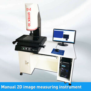 2d Manual Video Measuring Inspection Machine Image Measuring Instrument 12x8 In
